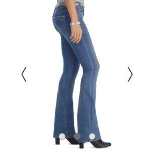 White House Black Market Stretch Flare Jeans